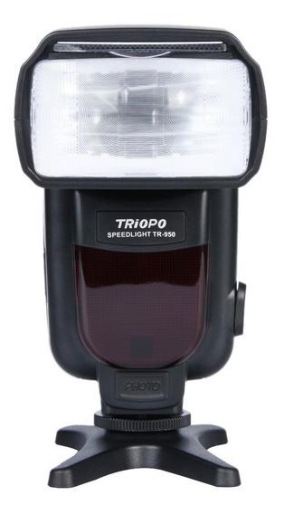 Flash Para Nikon Triopo Tr950 D7100 D3200 D5200
