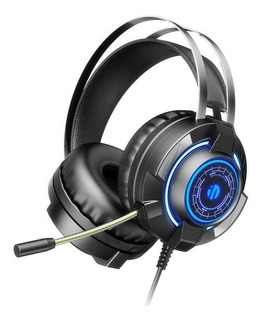 Auriculares Gamer Inphic G2 Microfono Led Rgb 3,5mm Usb Cuot
