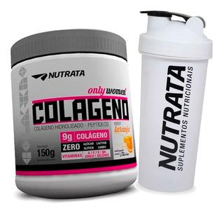 Colageno Hidrolisado Only Women 150g + Copo Pink - Nutrata