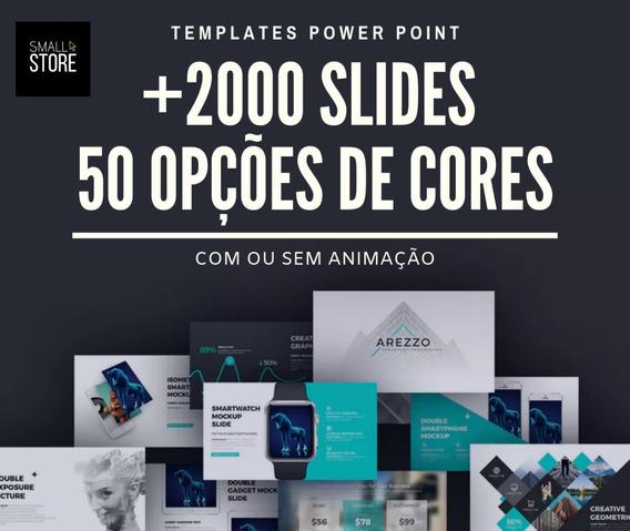 Templates Powerpoint - Mais De 2000 Slides Powerpoint 2019