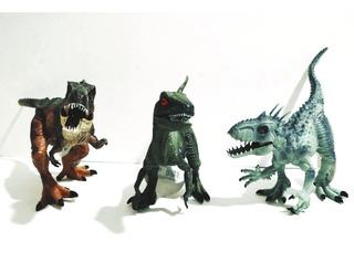 3 Dinosaurios Realistas, Indominus Rex, Velociraptor, Sonido