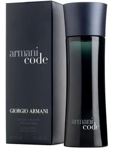 Armani Code Masculino Eau De Toilette 75 Ml -100% Original