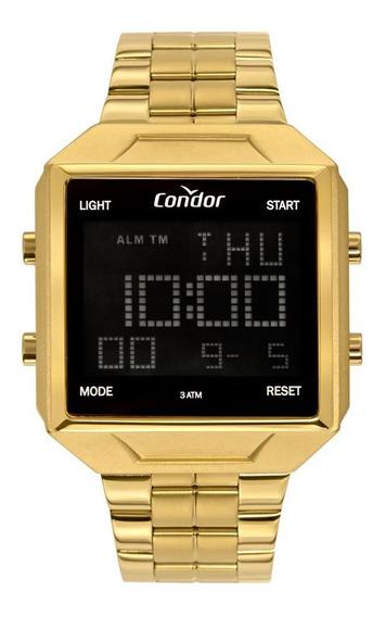 Relógio Condor Masculino Dourado Cobj2649ae/4d