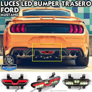 Luces Stops Led Bumper Drl Ford Mustang 2015 - 2020 Nueva