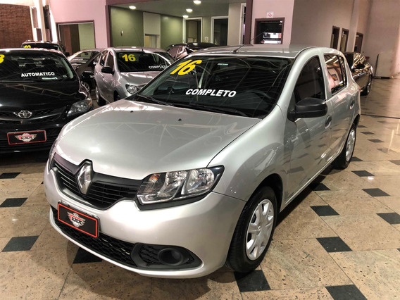 Renault Sandero 1.0 Authentique 16v Flex 4p Manual 2015 2016