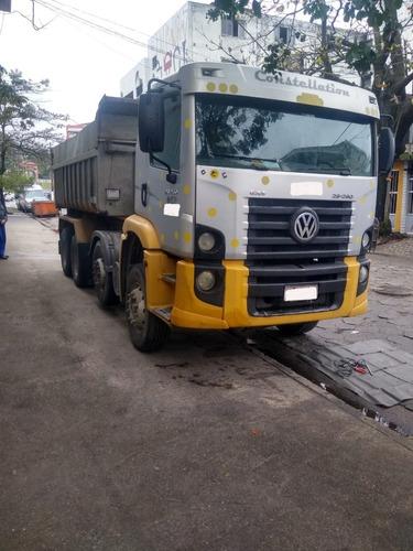 Imagem 1 de 15 de Caminhão- Volkswagem- 26260- 4 Eixo Traçado Ano 2009