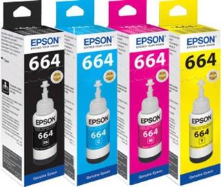 Epson 664 Pack 4 Colores Originales