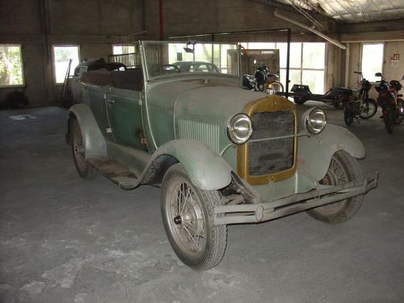 Ford A Doble Phaeton Cabriolet 1929 1930