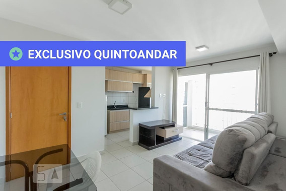 Apartamento No 24º Andar Mobiliado Com 2 Dormitórios E 1 Garagem - Id: 892910506 - 210506