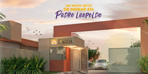 Casa Em Condomínio Com 2 Quartos Para Comprar No Lagoa De Santo Antônio Em Pedro Leopoldo/mg - 1340