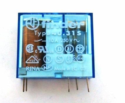 Rele Finder 4031 12vcc