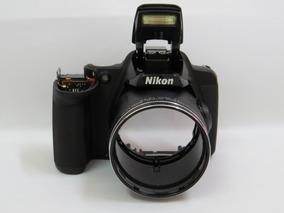 Moldura / Gabinete Dianteiro Nikon P520
