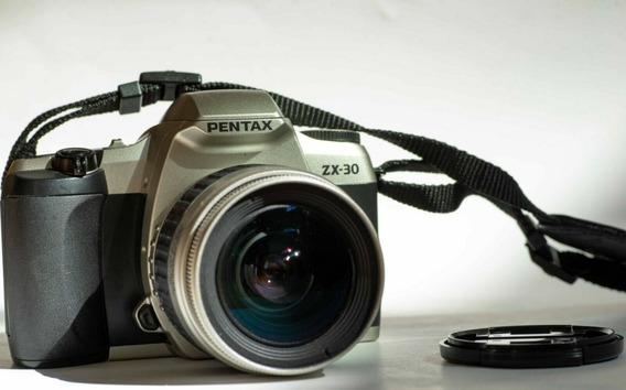 Camara Fotografica Pentax Reflex Zx-30 Excelente Condicion