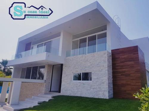 Imagen 1 de 12 de Casa Sola En Venta Fracc Lomas De Cocoyoc