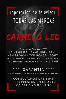 Servicio Técnico Tv Led/lcd/smart/android/lg/samsung/philips