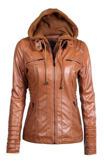 Abrigo De Chaqueta De Motobike Caliente Para Las Mujeres