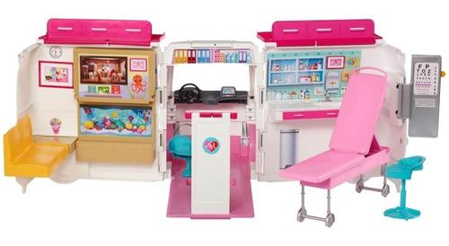 Barbie Careers Hospital Móvil Muñeca Para Niñas