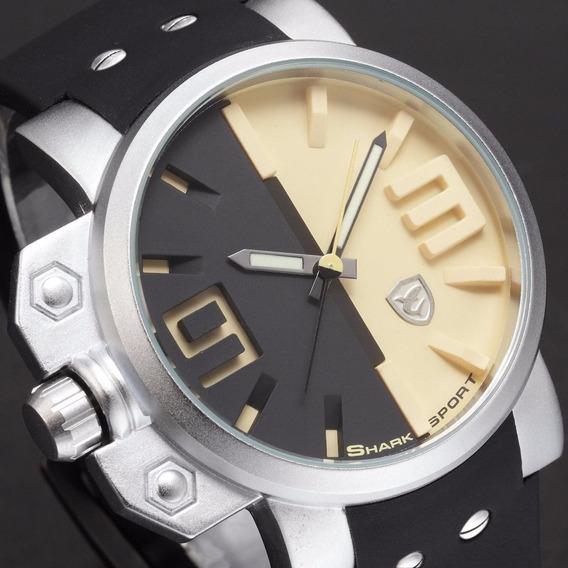 Relógio Shark Salmon R$150 + Brinde Relógio Digital