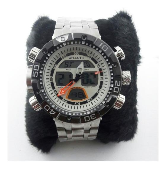 Relógio Masculino Atlantis J3400 Digital Frete Gratis