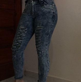 Jean Ropa Dama Mujer Usada