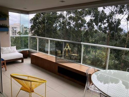 Imagem 1 de 21 de Excelente Apartamento Á Venda No Boulevard, Santana De Parnaíba. Com 3 Suítes, Gourmet E Lazer! - Ap3074