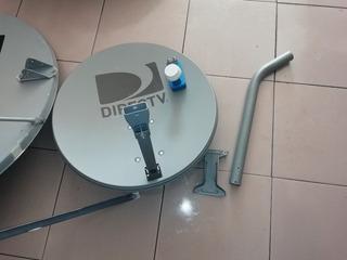 Antena Satelital 67cm Con Lnb Directv Sin Deco