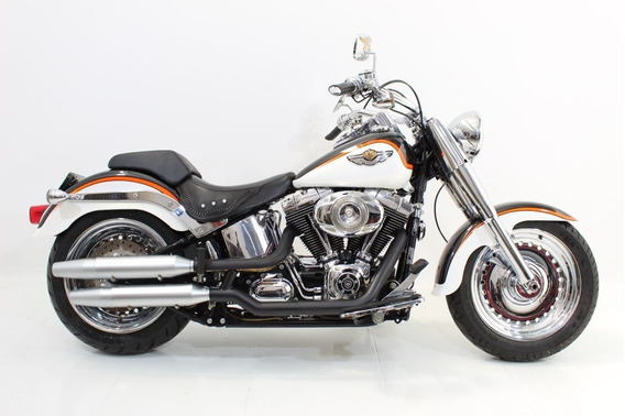 Harley Davidson Fat Boy Flstf 2009 Cinza