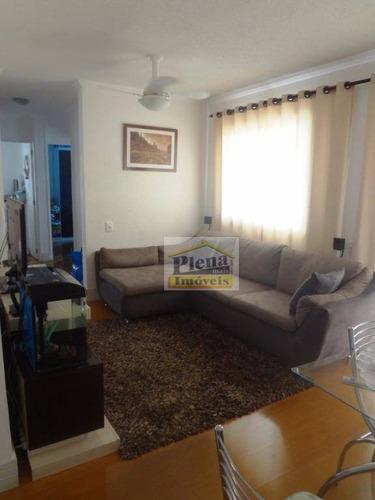 Imagem 1 de 24 de Apartamento Residencial À Venda, Parque Villa Flores, Sumaré. - Ap0721