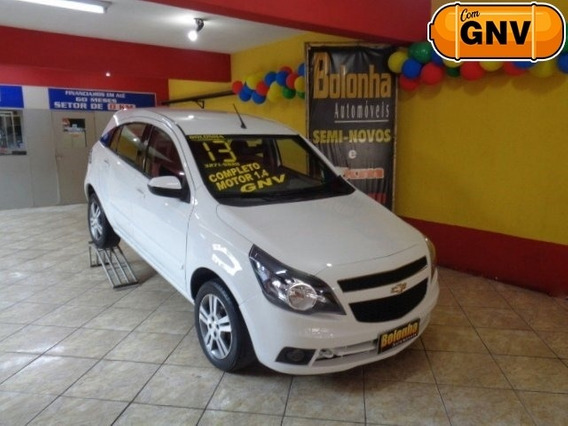 Chevrolet Agile 1.4 Mpfi Ltz 8v Flex + Gnv
