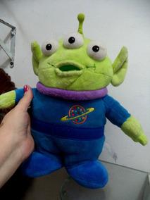 Pelucia Toy Story Homenzinho Verde Et Lindo 35 Cm Antigo