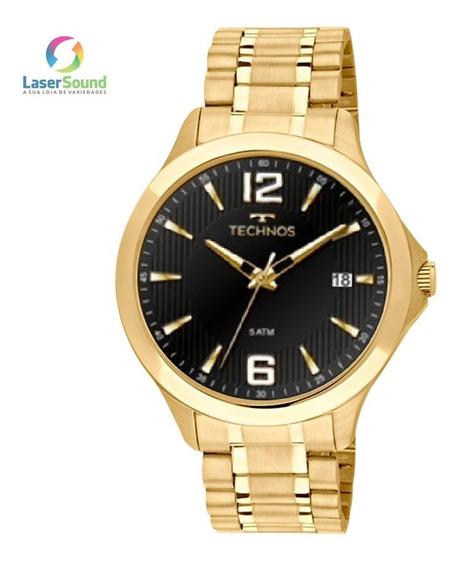 Relógio Technos Masculino 1s13cf/4p, C/ Garantia E Nf