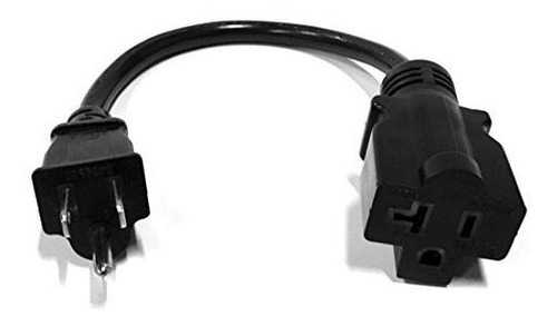 Adaptador Nema 5-15p A 5-20r Cable De Alimentacion De 13  1