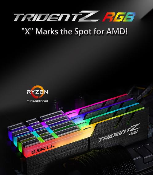 Memoria G.skill Tridentz Rgb Series 32gb(4x8)3200mhz Ripper