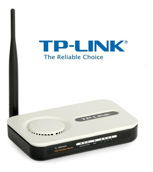 Router Inalámbrico Tp-link Tl-wr340g Wifi Incluye Fuente