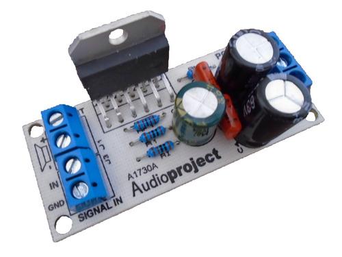 Modulo Amplificador Mono 68 Watts C/ Lm3886 - Audioproject