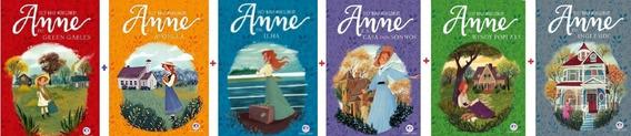 Combo Série Anne De Green Gables Com Os 6 Primeiros Livros