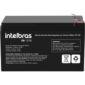 Bateria Selada 12v/7a Xb1270 Intelbras