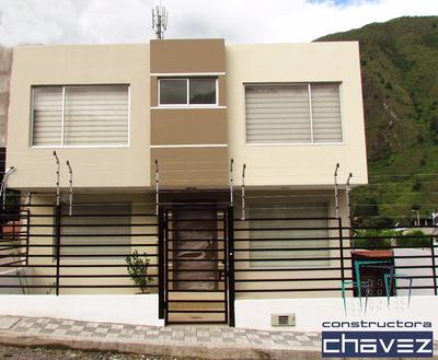 Casa De Venta En Baños De Agua Santa. 4 Dormitorios