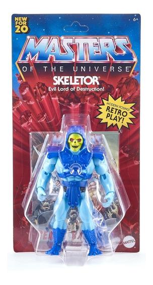 Masters Universe Skeletor Esqueleto Importado Origins 2020