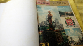 O Mundo Ilustrado Encadernada 8 Revistas Anos 1950 Oferta