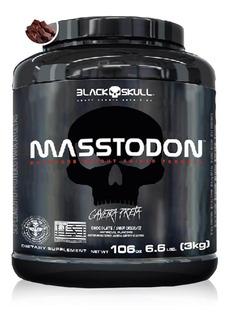 Hipercalórico Masstodon Massa 3kg - Black Skull
