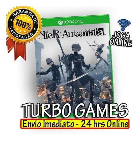 Nier Automata Mídia Digital Xbox One + 2 Jogos Brinde