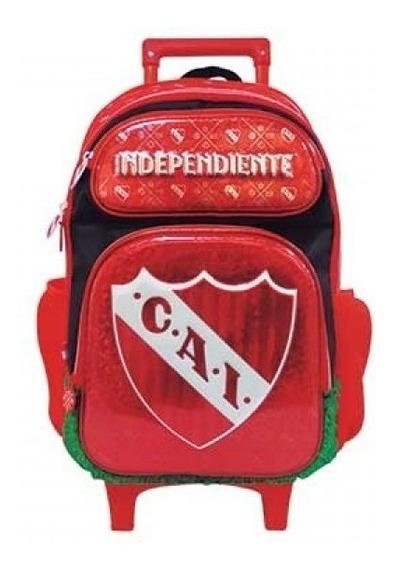 Mochila Independiente Carro 18p Futbol Mmk Frv