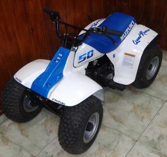 Cuatriciclo Suzuki Lt 50 En Excelente Estado