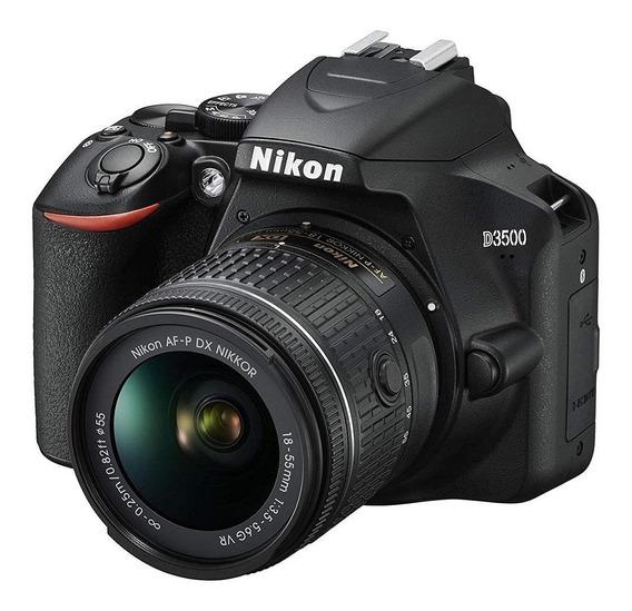 Nikon Reflex D3500 Kit 18-55mm Vr Af-p 24mp Bluetooh Full Hd