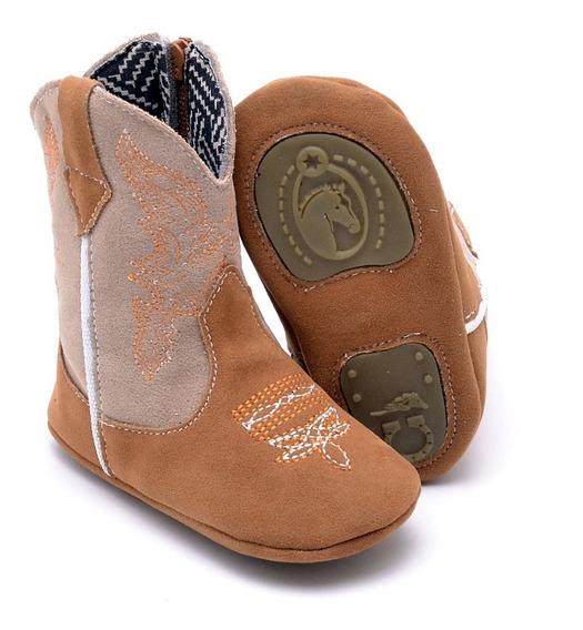 Bota Texana Infantil Baby Kids Country Rodeio Cowboys Peão