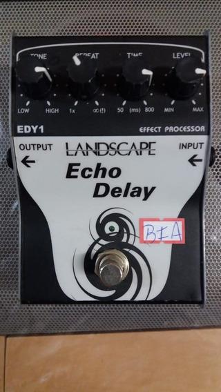 Pedal Landscape Guitarra Echo Delay Edy2 Original Na Brother