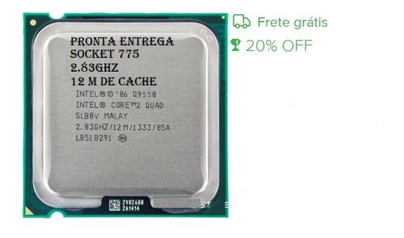 Processador Intel Core2quad Q9550 12mb 2.8ghz + Pasta