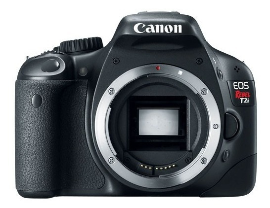 Camera Canon T2i, 2 Baterias Originais, 1 Paralela -ñ É T3i