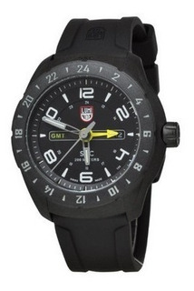 Reloj Luminox Sxc Space Con Estuche Doble Horario Calendario